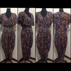 Pants - 50% OFF Colorful VINTAGE Jumpsuit